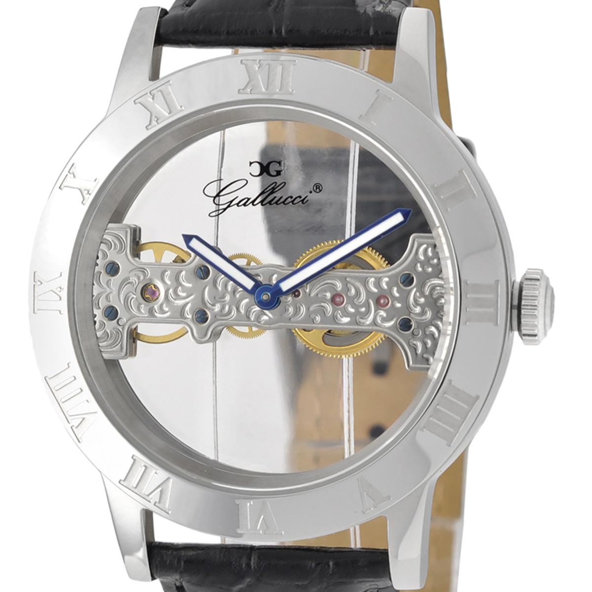 Gallucci ガルーチ 手巻き 腕時計 [WT23374SK-ST] 並行輸入品