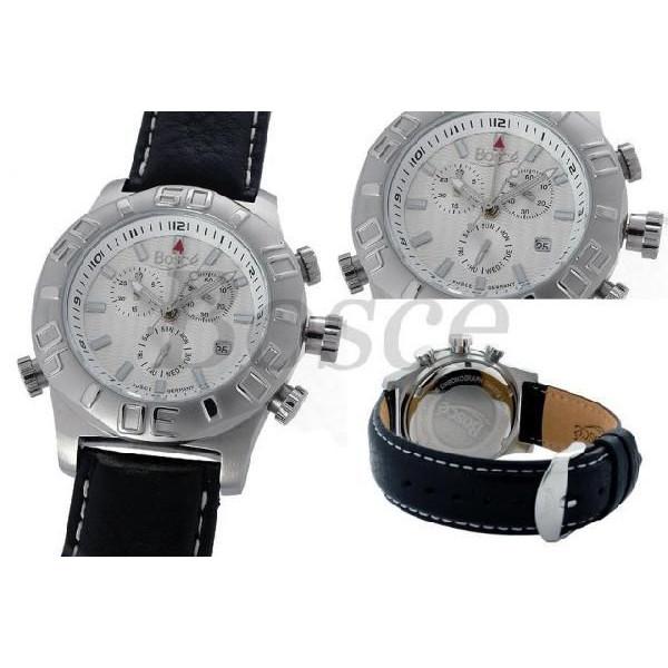【残り1点】BOSCE ボッシュ クォーツ 腕時計 メンズ [HQ22170-858-8174] 並行輸入品 収納ケース付き 24ヶ月保証付き