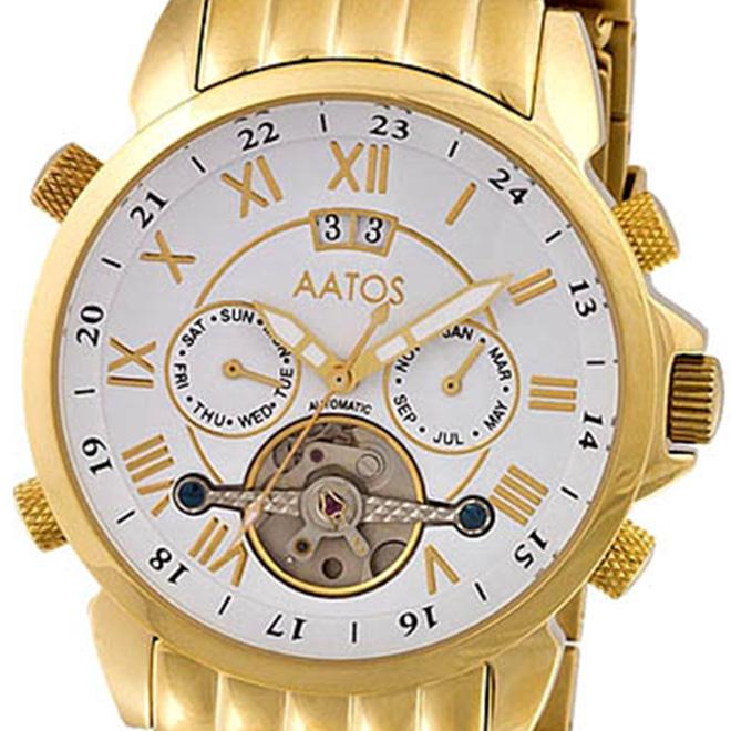 【残り1点】MZI エムゼーアイ 自動巻き 腕時計 メンズ [JAAKKOGGW] 並行輸入品【訳アリ価格:メーカー保証なし】
