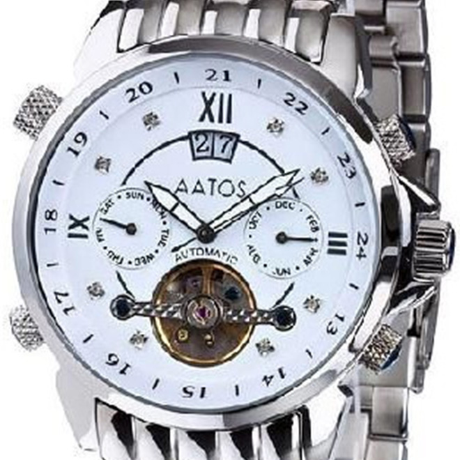 MZI エムゼーアイ 自動巻き 腕時計 メンズ [JaakkoSSWD] 並行輸入品【訳アリ価格:メーカー保証なし】