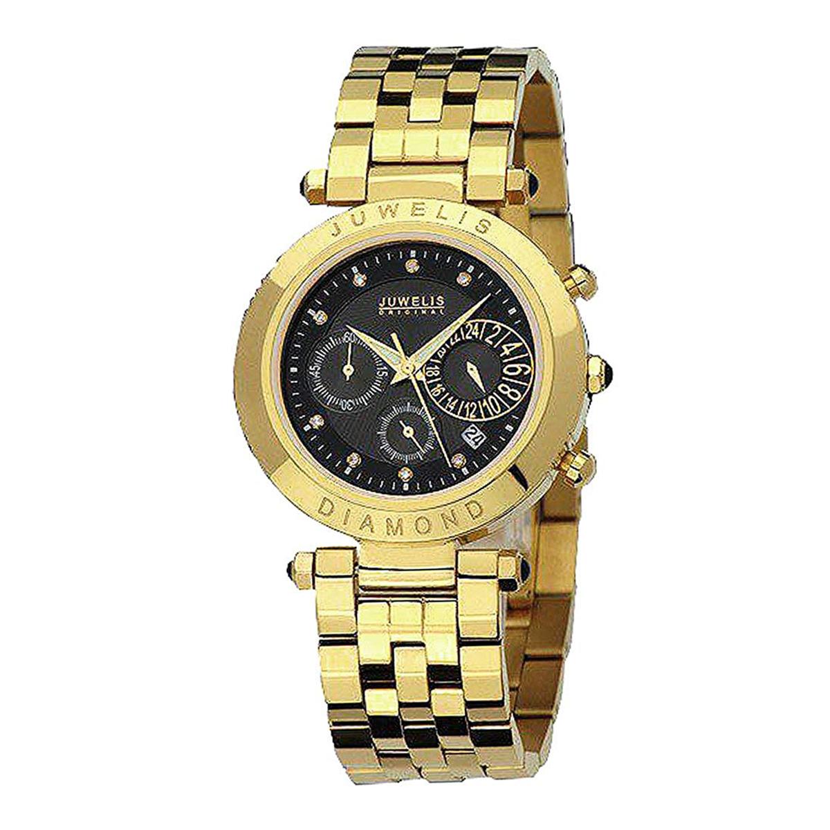 【残り1点】JUWELIS ジュエルス クォーツ 腕時計 メンズ [JW0601GSBRC] 並行輸入品 メーカー保証24ヵ月 収納ケース付き