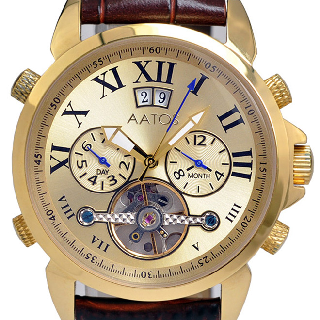 MZI エムゼーアイ 自動巻き 腕時計 メンズ [KarpusLGG] 並行輸入品【訳アリ価格:メーカー保証なし】