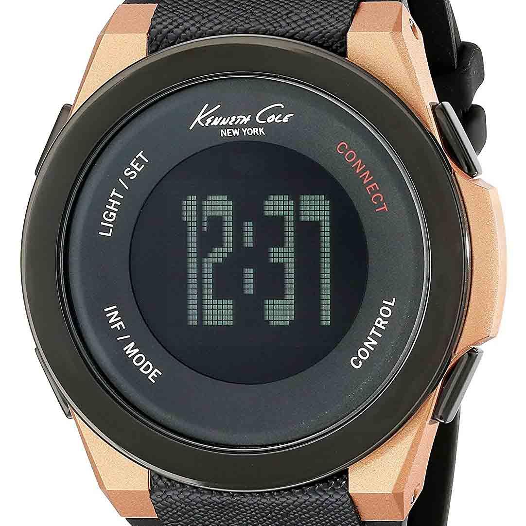 Kenneth Cole ケネスコール クォーツ 腕時計 アメリカ デザイナーズ スマートウォッチ ファッション [KC10022939] 並行輸入品 純正ケース メーカー保証