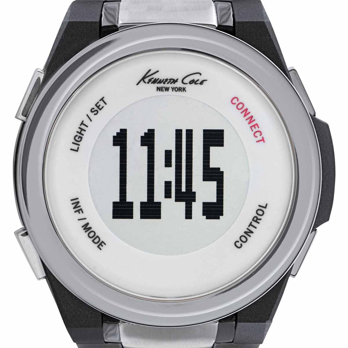 【残り1点】Kenneth Cole ケネスコール クォーツ 腕時計 アメリカ デザイナーズ スマートウォッチ ファッション [KC10023868] 並行輸入品 純正ケース メーカー保証