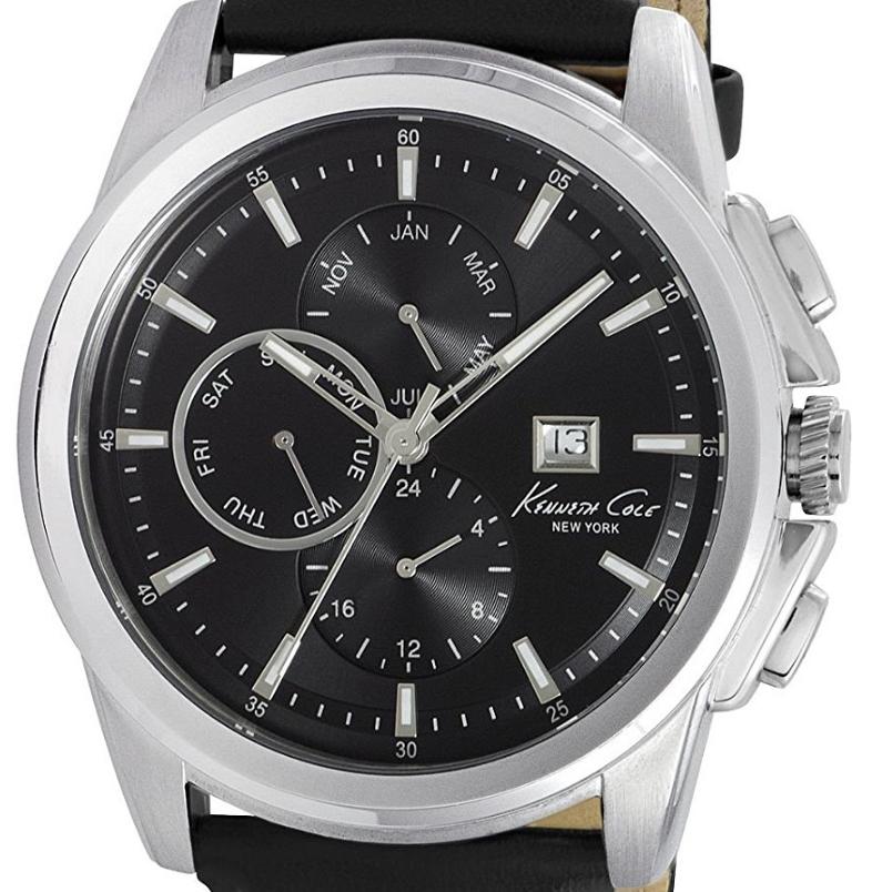 Kenneth Cole ケネスコール クォーツ 腕時計 ニューヨーク ファッション スタイリッシュ [KC10025919 ] 並行輸入品 純正ケース メーカー保証 ブックレット