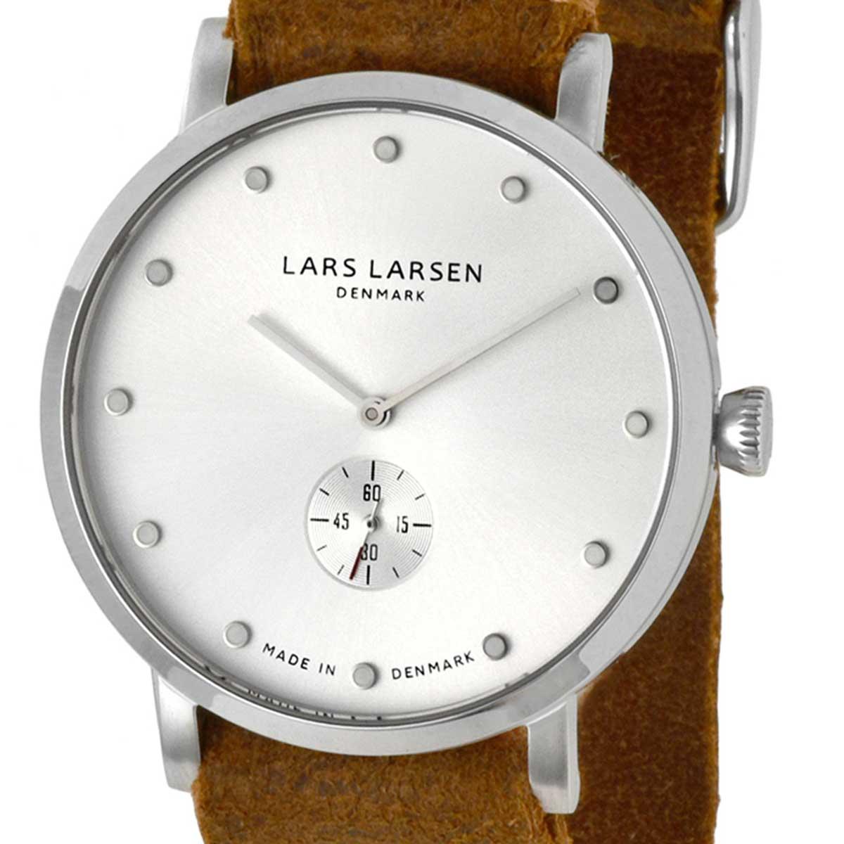 LARS LARSEN ラースラーセン (LLARSEN エルラーセン) 電池式クォーツ 腕時計 [132SWCZ] 並行輸入品