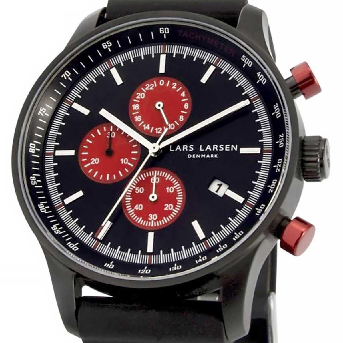 LARS LARSEN ラースラーセン (LLARSEN エルラーセン) 電池式クォーツ 腕時計 [133CBBS] 並行輸入品  クロノグラフ