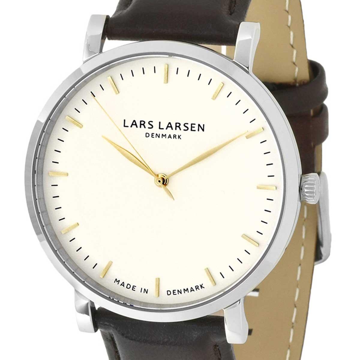 LARS LARSEN ラースラーセン (LLARSEN エルラーセン) 電池式クォーツ 腕時計 [143SWG-BLLSS20] 並行輸入品