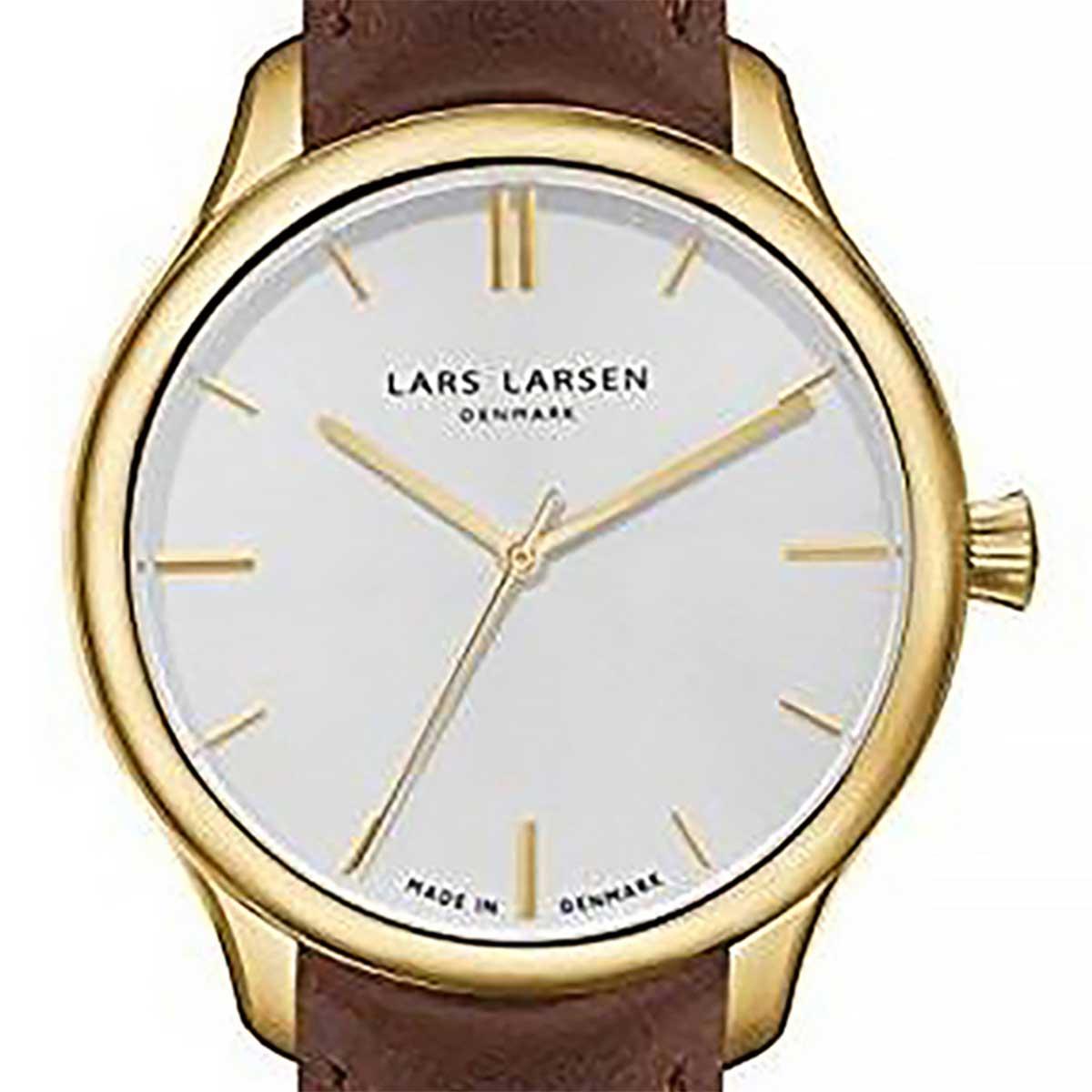LARS LARSEN ラースラーセン (LLARSEN エルラーセン) 電池式クォーツ 腕時計 [WH120GB-BLG20] 並行輸入品