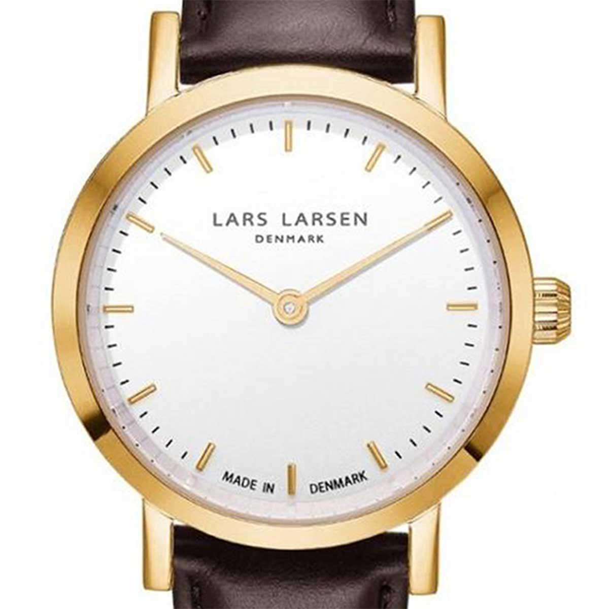 LARS LARSEN ラースラーセン (LLARSEN エルラーセン) 電池式クォーツ 腕時計 [WH124GW-BLLG14] 並行輸入品