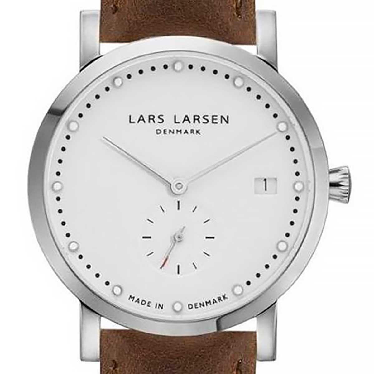 LARS LARSEN ラースラーセン (LLARSEN エルラーセン) 電池式クォーツ 腕時計 [WH137SW-BS18] 並行輸入品