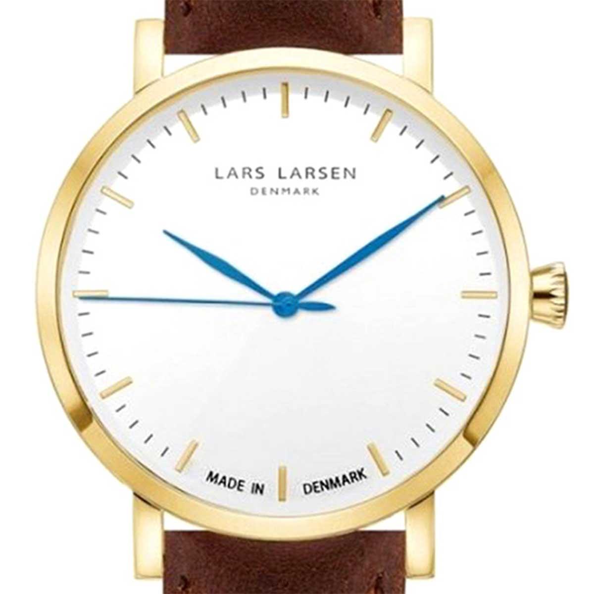 LARS LARSEN ラースラーセン (LLARSEN エルラーセン) 電池式クォーツ 腕時計 [WH143GW] 並行輸入品