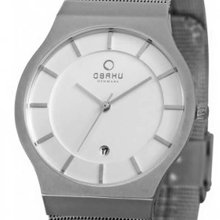【残り1点】OBAKU オバック クォーツ 腕時計 デンマーク シンプル 薄型 ファッション [V123GCIMC] 並行輸入品 純正ケース メーカー保証