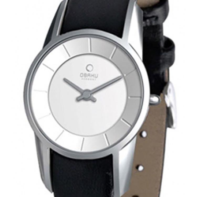 【残り1点】OBAKU オバック クォーツ 腕時計 デンマーク シンプル 薄型 ファッション [V130LCIRB] 並行輸入品 純正ケース メーカー保証