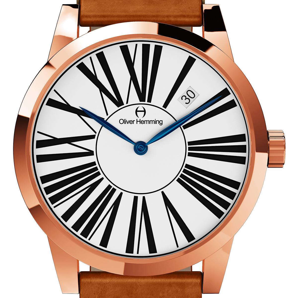 Oliver Hemming オリバーヘミング クォーツ 腕時計 イギリス アート デザイン [WT17R53WVT] 正規代理店品 純正ケース メーカー保証