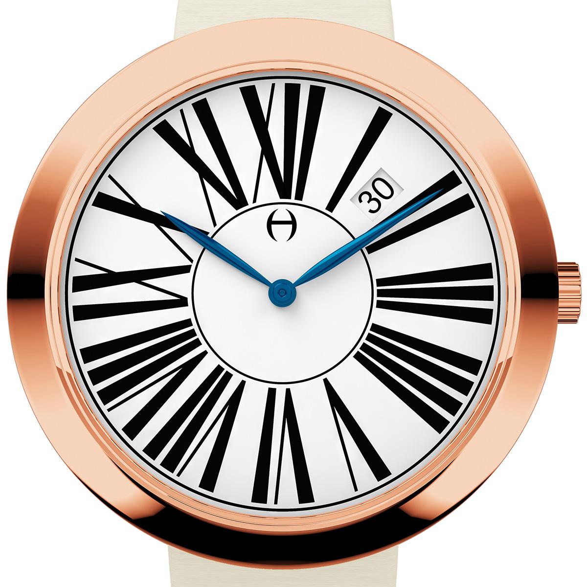 【残り1点】Oliver Hemming オリバーヘミング クォーツ 腕時計 イギリス アート デザイン [WT35R53WIS] 正規代理店品 純正ケース メーカー保証