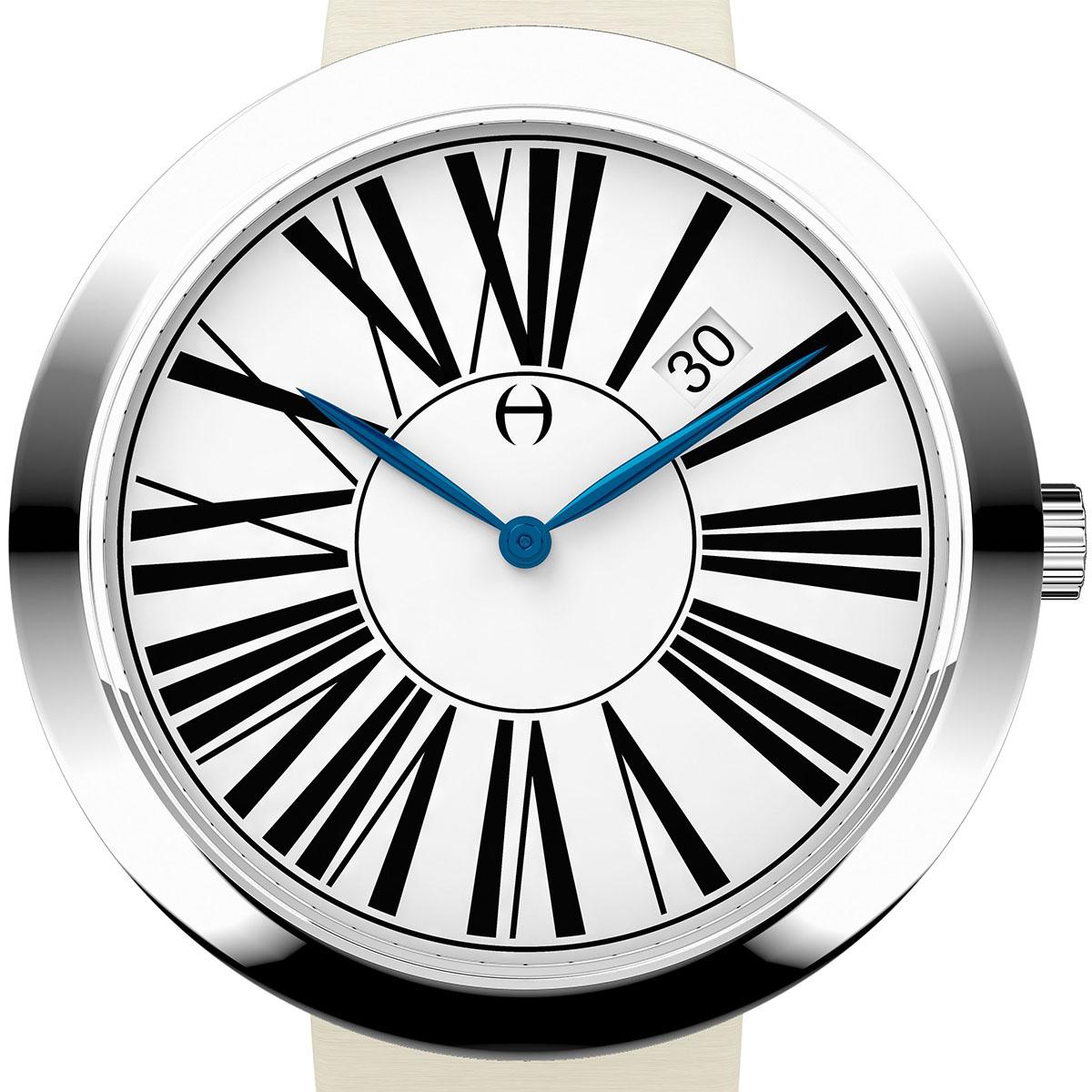 【残り1点】Oliver Hemming オリバーヘミング クォーツ 腕時計 イギリス アート デザイン [WT35S53WIS] 正規代理店品 純正ケース メーカー保証