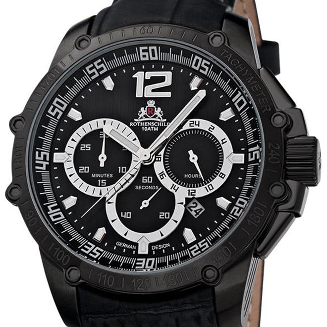 【残り1点】Rothenschild ローテンシルト クォーツ 腕時計 メンズ [RS-1109-IB-S] 並行輸入品 メーカー保証24ヵ月 純正ケース付き