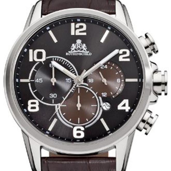 【残り1点】Rothenschild ローテンシルト クォーツ 腕時計 メンズ [rs-1203-as-sbr] 並行輸入品 メーカー保証24ヵ月 純正ケース付き