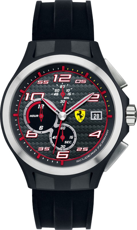【残り1点】Ferrari フェラーリ クォーツ 腕時計 メンズ スポーツウォッチ [SF830015] 並行輸入品 メーカー国際保証24ヵ月 純正ケース付き