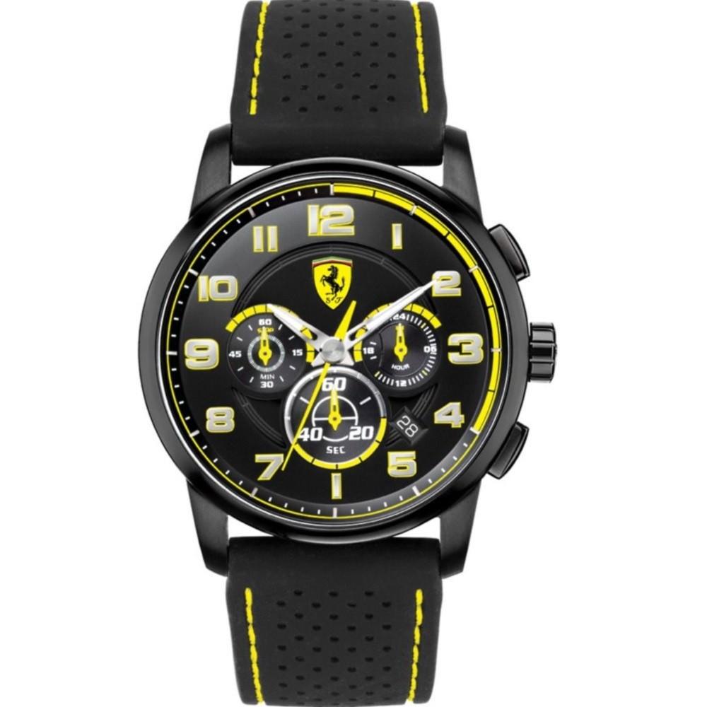 Ferrari フェラーリ クォーツ 腕時計 メンズ スポーツウォッチ [SF830061] 並行輸入品 メーカー国際保証24ヵ月 純正ケース付き