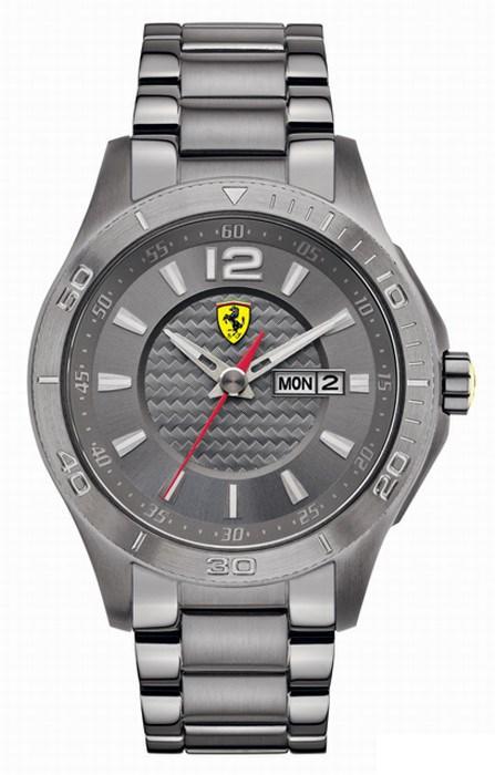 【残り1点】Ferrari フェラーリ クォーツ 腕時計 メンズ スポーツウォッチ [SF830106] 並行輸入品 メーカー国際保証24ヵ月 純正ケース付き