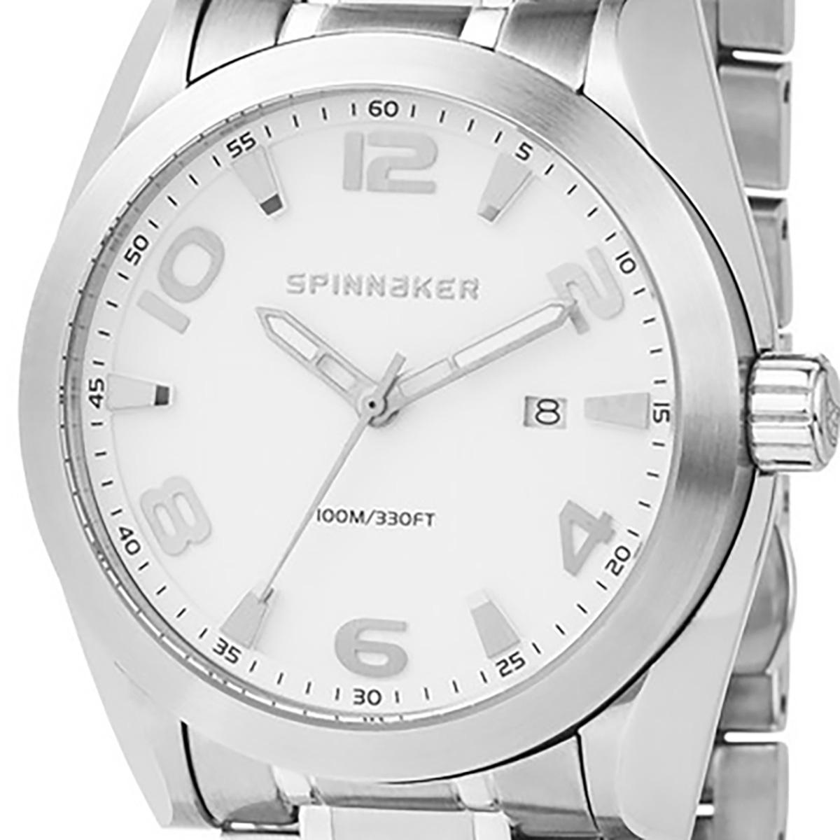 SPINNAKER スピネーカー 電池式クォーツ 腕時計 [SP-5045-33] 並行輸入品  デイト