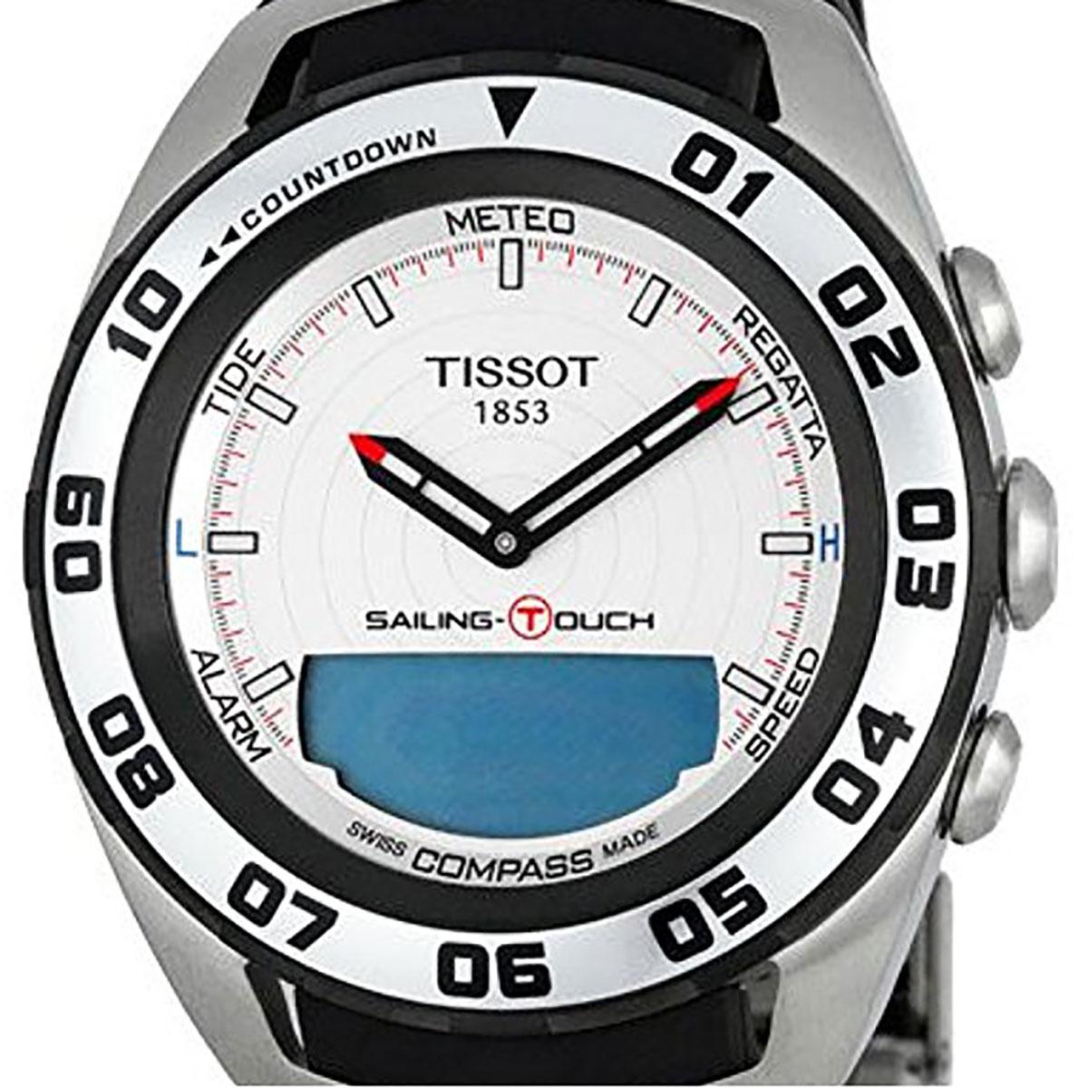 【残り1点】TISSOT ティソ 電池式クォーツ 腕時計 [T056-420-27-031-00] 並行輸入品 ネイビー(紺)