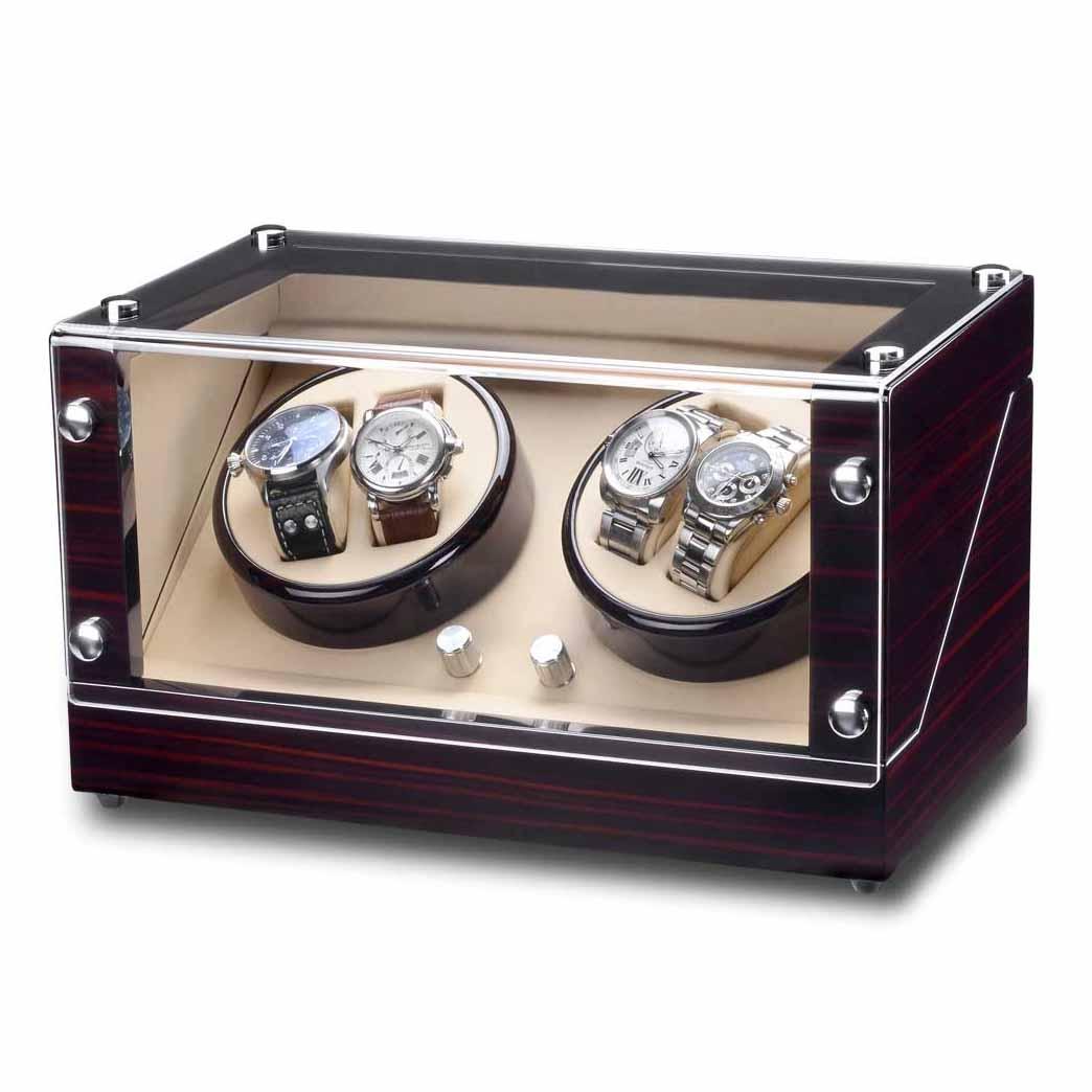 ウォッチワインダー ワイディングマシーン ROTHENSCHILD/ローテンシルト 収納本数:4本 [ RS-2040-MCS ] 正規代理店品