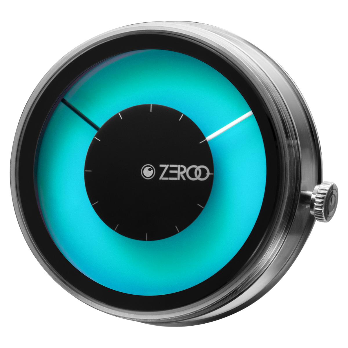 ZEROO 交換用クロックボディ  ZEROO MAGIA AURORA ゼロ 電池式クォーツ 腕時計 [M11026]