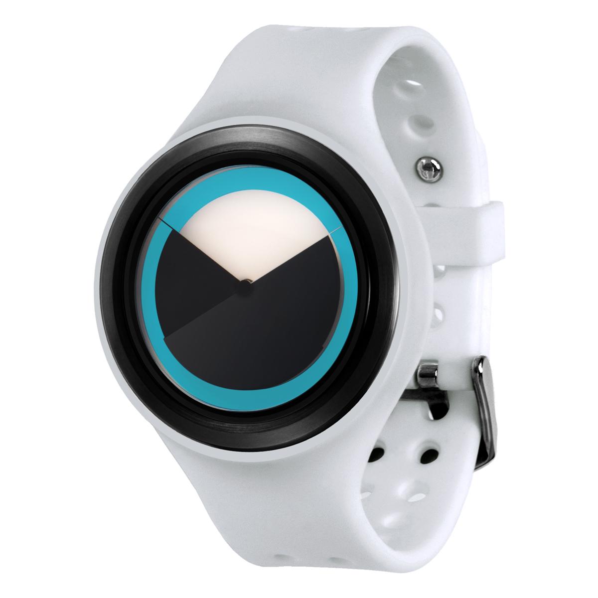 ZEROO DEEPSKY SWEEPING ゼロ 電池式クォーツ 腕時計 [W00401B03SR01] ホワイト デザインウォッチ ペア用 メンズ レディース ユニセックス おしゃれ時計 デザイナーズ