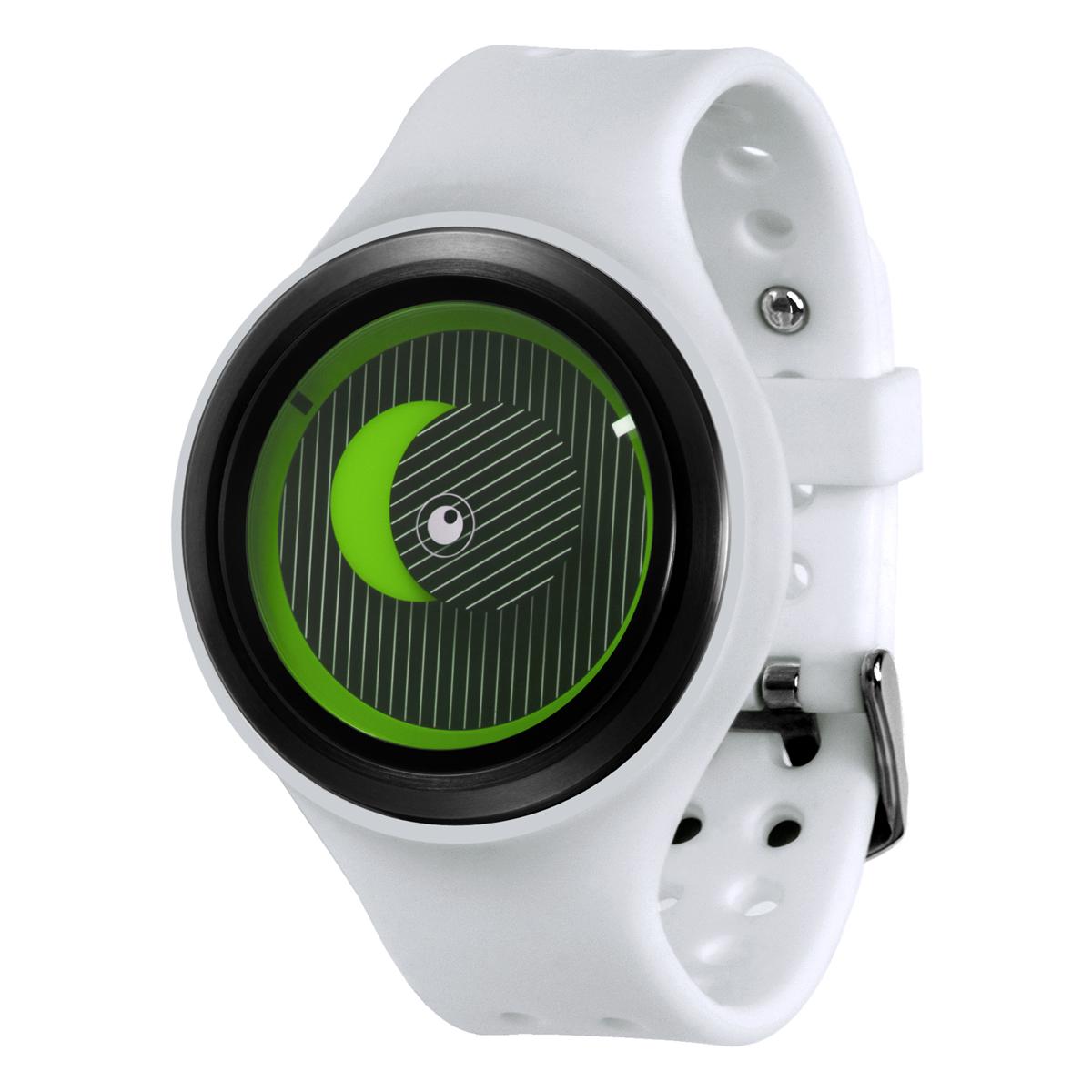 ZEROO SECRET UNIVERSE ゼロ 電池式クォーツ 腕時計 [W00502B03SR01] ホワイト デザインウォッチ ペア用 メンズ レディース ユニセックス おしゃれ時計 デザイナーズ