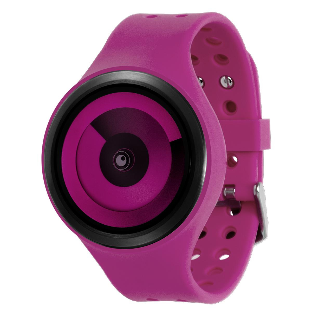 ZEROO SPIRAL GALAXY ゼロ 電池式クォーツ 腕時計 [W00603B03SR07] マゼンタ デザインウォッチ ペア用 メンズ レディース ユニセックス おしゃれ時計 デザイナーズ