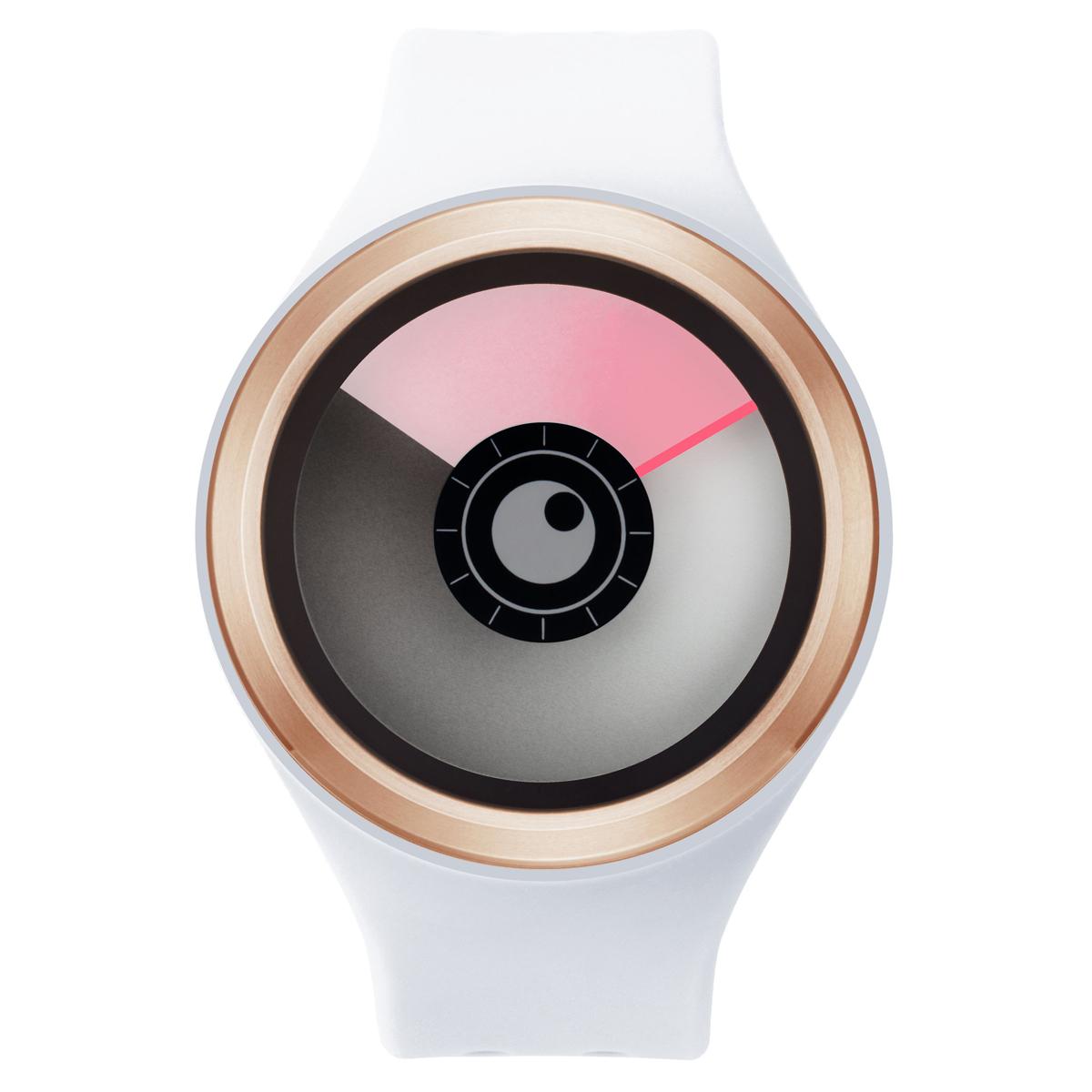 ZEROO AURORA BOREALIS ゼロ 電池式クォーツ 腕時計 [W00701B05SR01] ホワイト デザインウォッチ ペア用 メンズ レディース ユニセックス おしゃれ時計 デザイナーズ