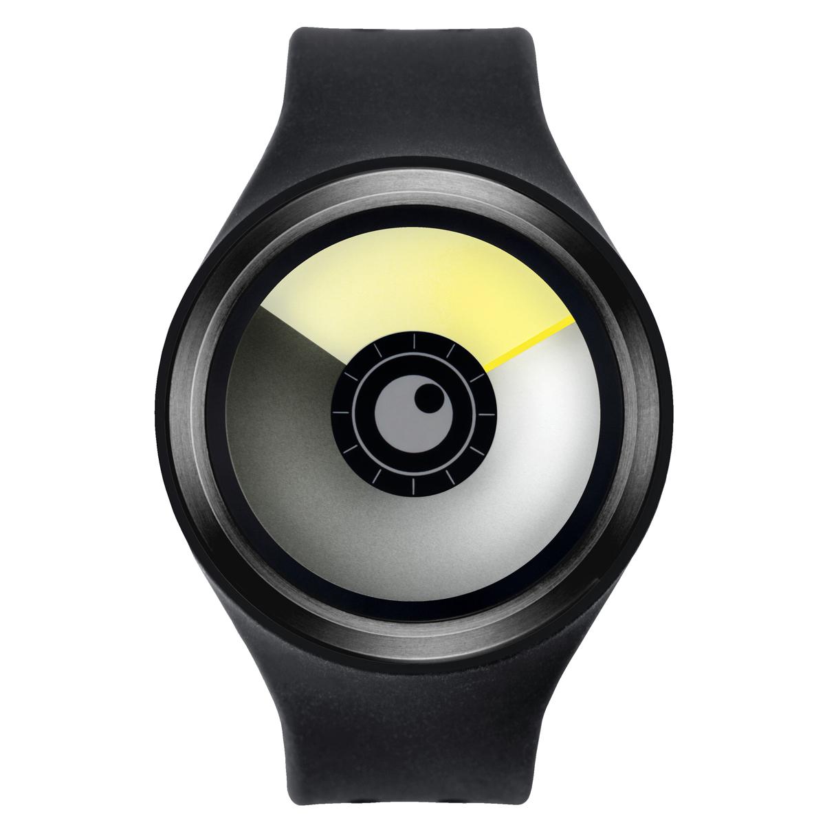 ZEROO AURORA BOREALIS ゼロ 電池式クォーツ 腕時計 [W00702B03SR02] ブラック デザインウォッチ ペア用 メンズ レディース ユニセックス おしゃれ時計 デザイナーズ
