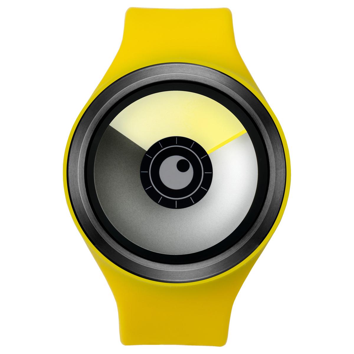 ZEROO AURORA BOREALIS ゼロ 電池式クォーツ 腕時計 [W00702B03SR09] イエロー デザインウォッチ ペア用 メンズ レディース ユニセックス おしゃれ時計 デザイナーズ