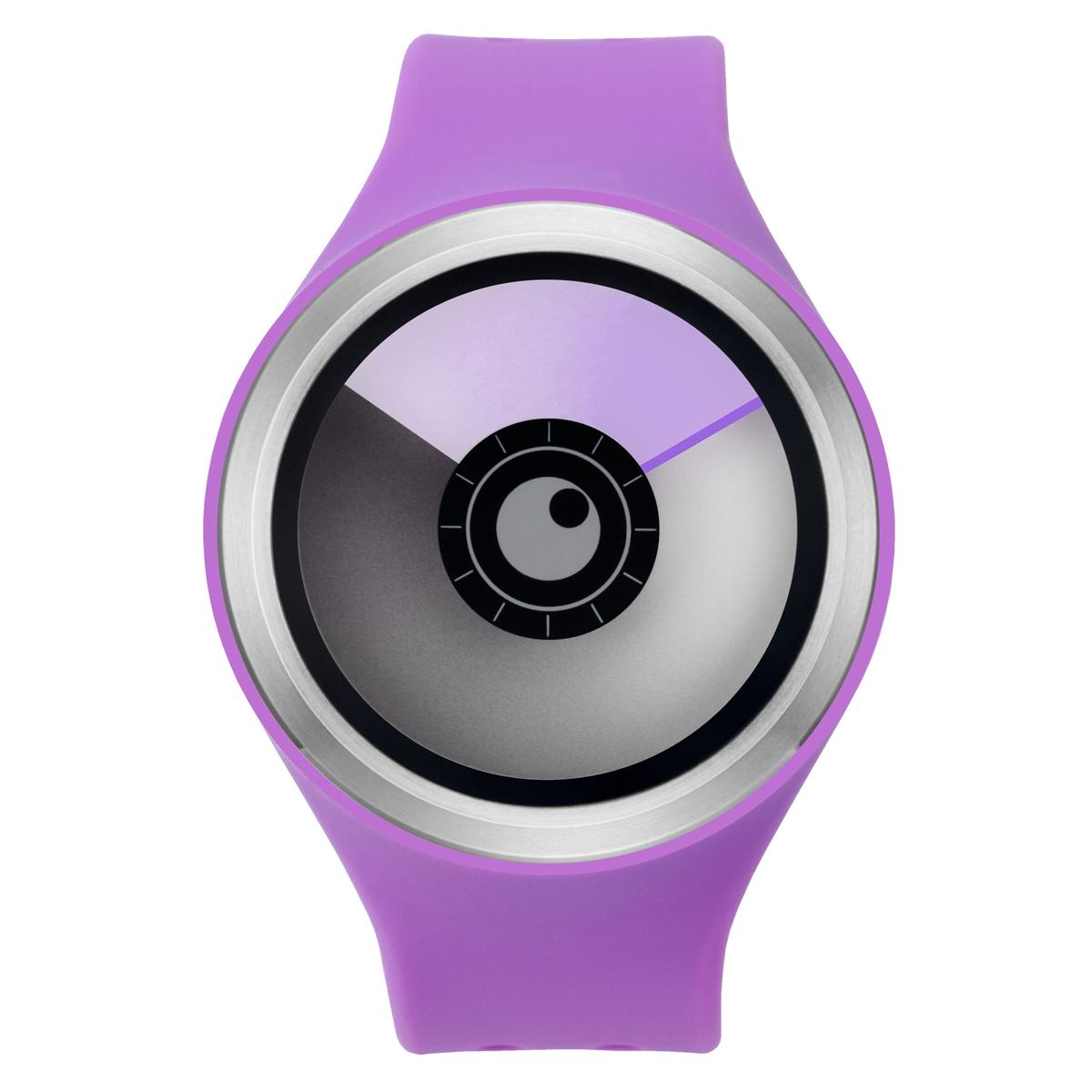 ZEROO AURORA BOREALIS ゼロ 電池式クォーツ 腕時計 [W00704B01SR08] パープル デザインウォッチ ペア用 メンズ レディース ユニセックス おしゃれ時計 デザイナーズ