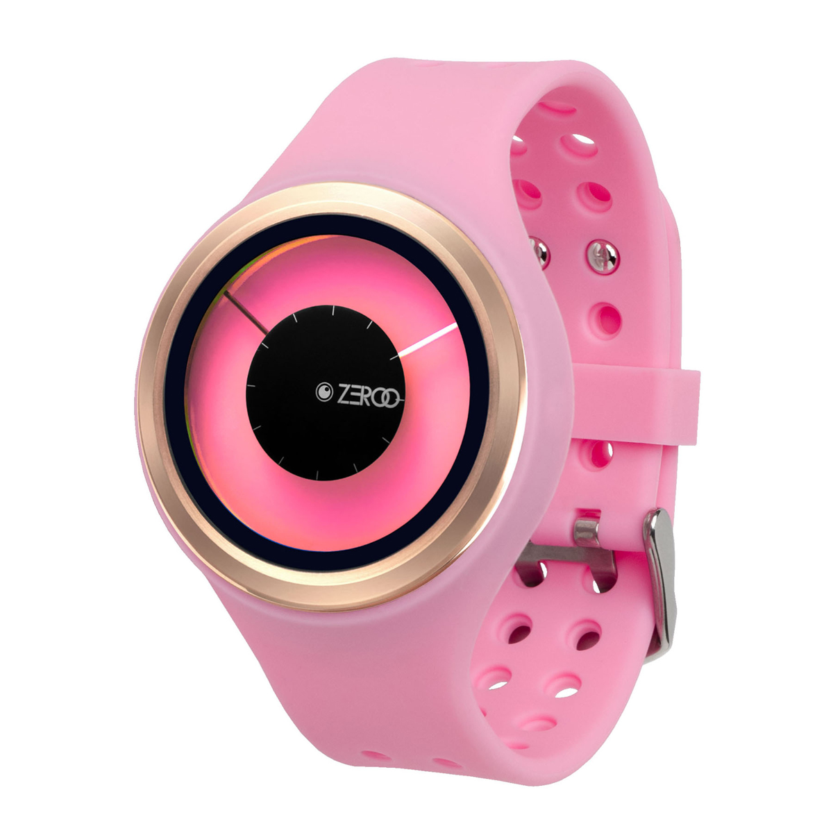 ZEROO MAGIA AURORA ゼロ 電池式クォーツ 腕時計 [W00801B05SR06] ピンク デザインウォッチ ペア用 メンズ レディース ユニセックス おしゃれ時計 デザイナーズ