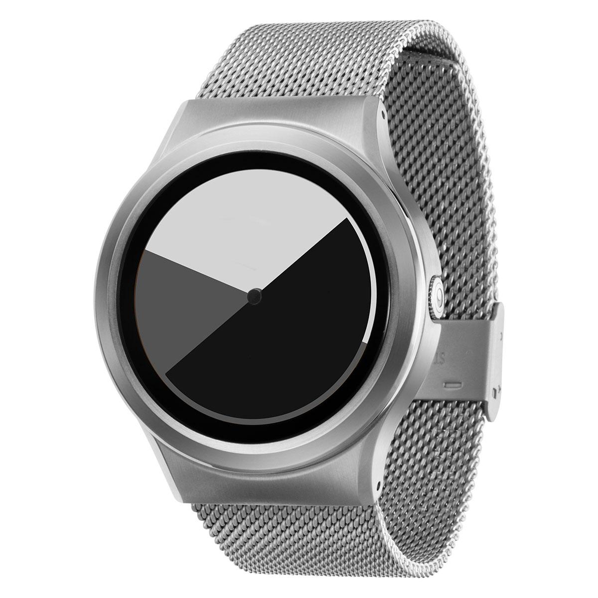 ファッションウォッチ デザインウォッチ 5ATM メーカー保障12ヶ月 ショップ ベルト調整用工具 LOGO入りクロス 取扱説明書 ZIIIROとは関係ありません ZEROOTIME ゼロタイム ZEROO COLORED メンズ レディース W01003B01SM01 グレイ おしゃれ時計 ペア用 電池式クォーツ ゼロ ユニセックス TIME デザイナーズ テレビで話題 腕時計