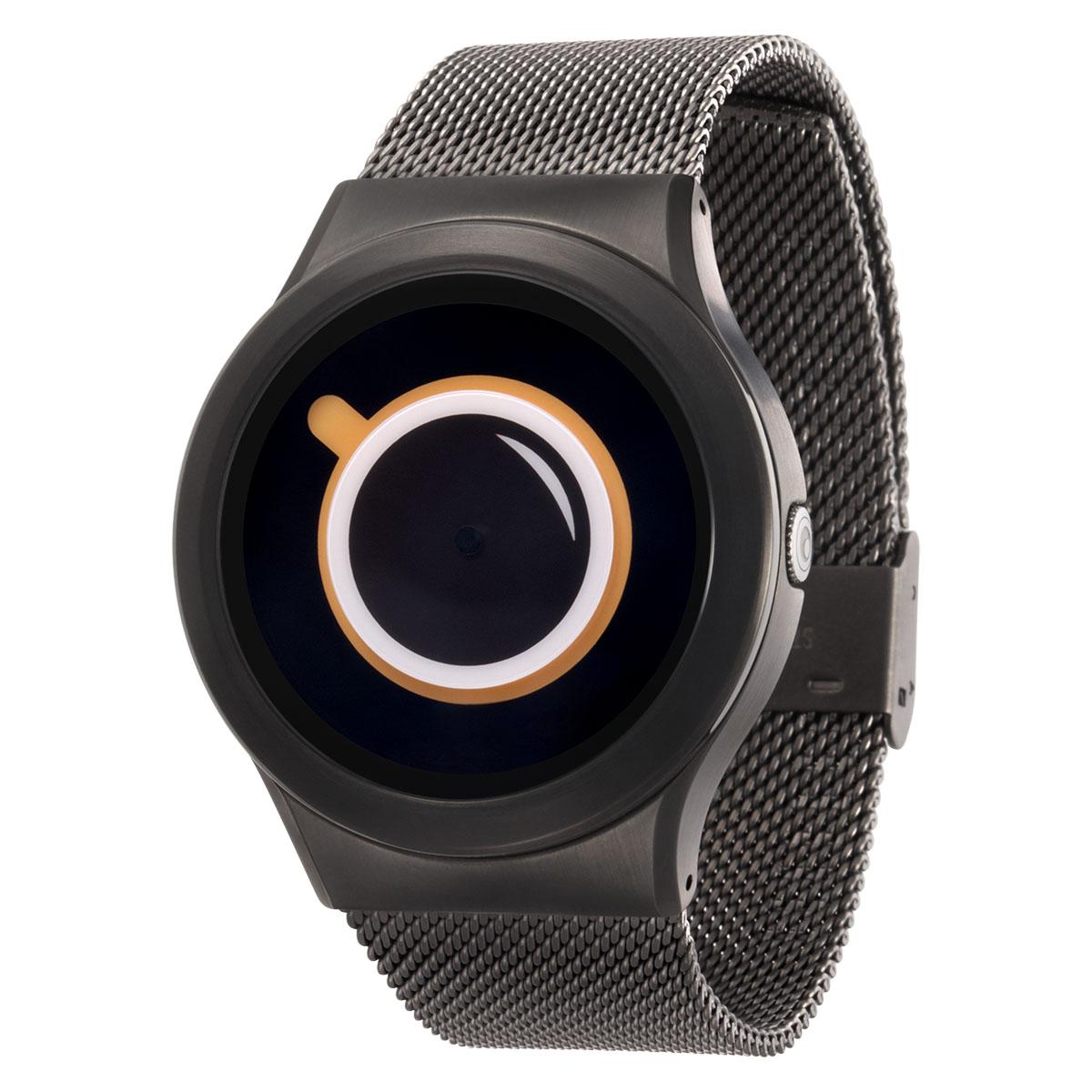 ZEROO COFFEE TIME ゼロ 電池式クォーツ 腕時計 [W03009B02SM02] ベージュ デザインウォッチ ペア用 メンズ レディース ユニセックス おしゃれ時計 デザイナーズ