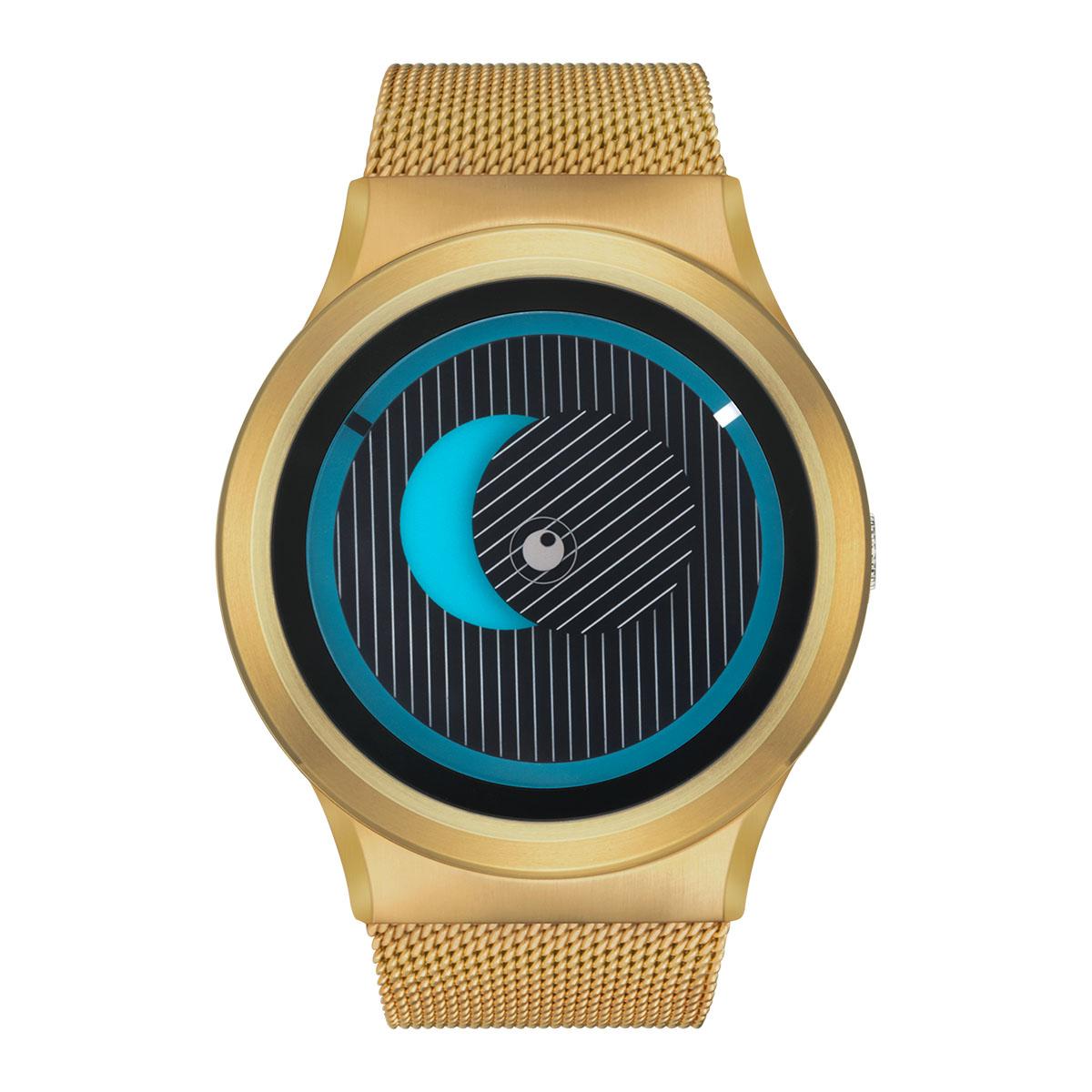 ZEROO SECRET UNIVERSE ゼロ 電池式クォーツ 腕時計 [W05013B04SM04] ブルー