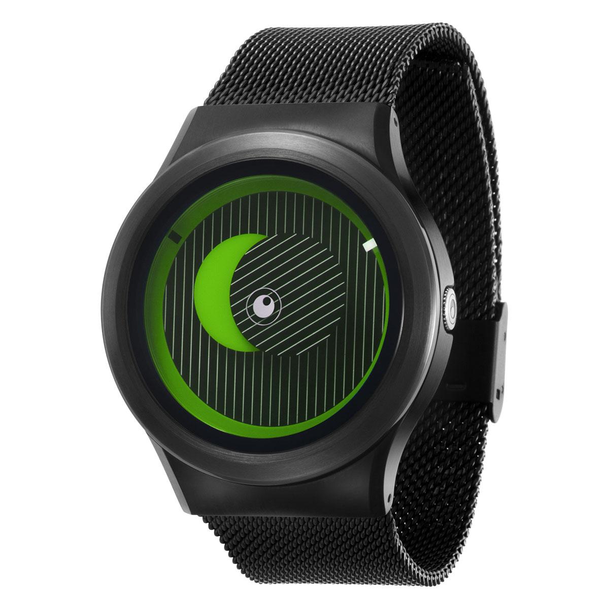 ZEROO SECRET UNIVERSE ゼロ 電池式クォーツ 腕時計 [W05014B03SM03] グリーン デザインウォッチ ペア用 メンズ レディース ユニセックス おしゃれ時計 デザイナーズ