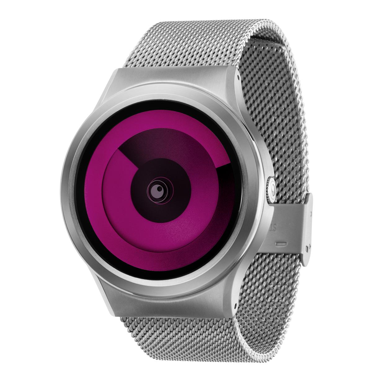 ファッションウォッチ デザインウォッチ 休み 5ATM メーカー保障12ヶ月 ベルト調整用工具 LOGO入りクロス 取扱説明書 ZIIIROとは関係ありません ZEROOTIME ゼロタイム ZEROO SPIRAL レディース デザイナーズ マゼンタ ペア用 腕時計 ゼロ おしゃれ時計 割引 W06017B01SM01 GALAXY メンズ 電池式クォーツ ユニセックス