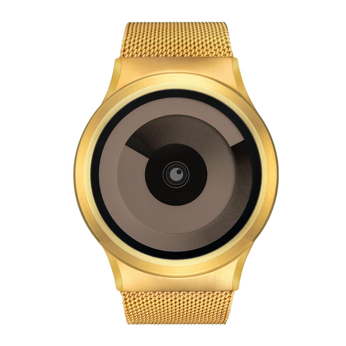 ZEROO SPIRAL GALAXY ゼロ 電池式クォーツ 腕時計 [W06019B04SM04] ベージュ デザインウォッチ ペア用 メンズ レディース ユニセックス おしゃれ時計 デザイナーズ