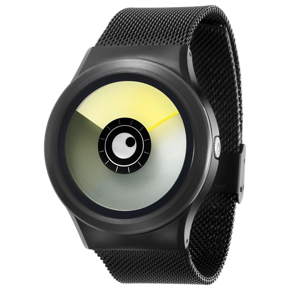 ファッションウォッチ デザインウォッチ 5ATM メーカー保障12ヶ月 ベルト調整用工具 LOGO入りクロス 取扱説明書 ZIIIROとは関係ありません ZEROOTIME ゼロタイム ZEROO AURORA 電池式クォーツ イエロー ペア用 海外限定 ユニセックス 腕時計 デザイナーズ ゼロ レディース 国際ブランド BOREALIS おしゃれ時計 W12021B03SM03 メンズ