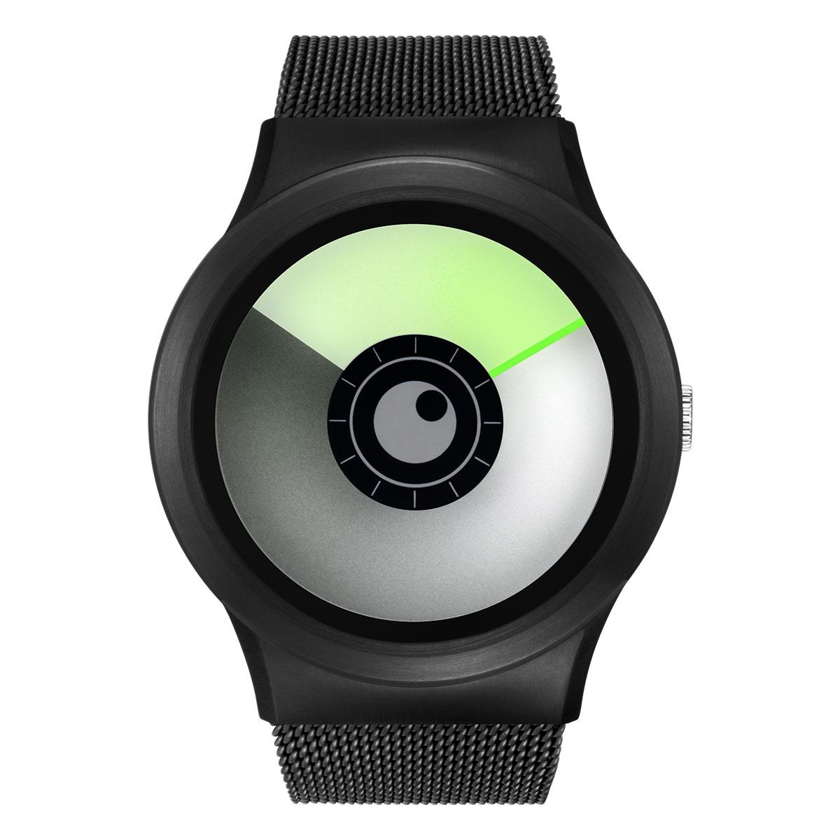 ZEROO AURORA BOREALIS ゼロ 電池式クォーツ 腕時計 [W12022B03SM03] グリーン デザインウォッチ ペア用 メンズ レディース ユニセックス おしゃれ時計 デザイナーズ