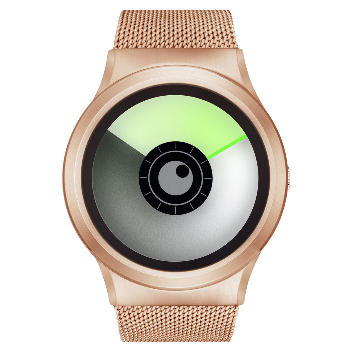 ZEROO AURORA BOREALIS ゼロ 電池式クォーツ 腕時計 [W12022B05SM05] グリーン デザインウォッチ ペア用 メンズ レディース ユニセックス おしゃれ時計 デザイナーズ