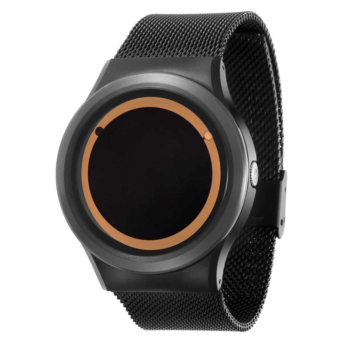 ZEROO PLANET ECLIPSE ゼロ 電池式クォーツ 腕時計 [W13029B03SM03] ベージュ デザインウォッチ ペア用 メンズ レディース ユニセックス おしゃれ時計 デザイナーズ