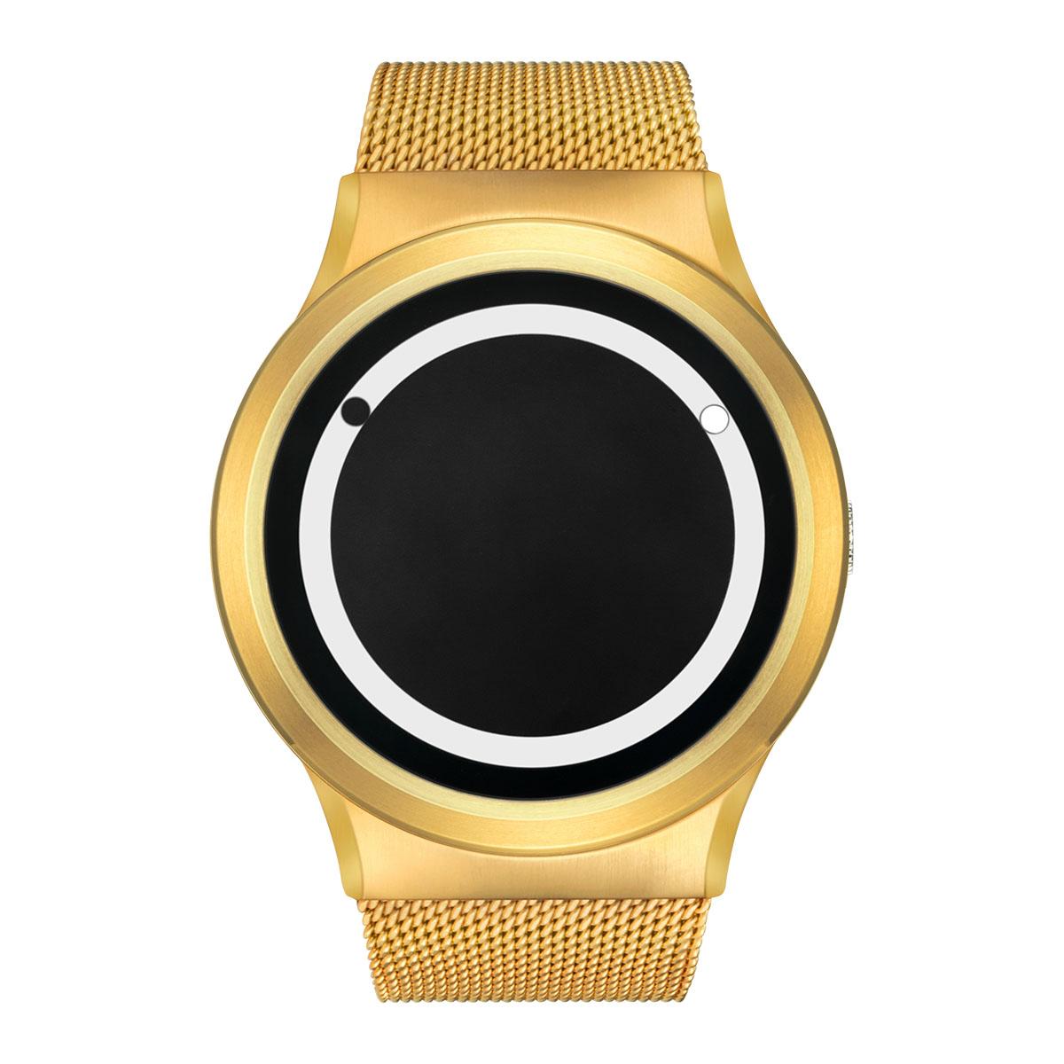 ZEROO PLANET ECLIPSE ゼロ 電池式クォーツ 腕時計 [W13030B04SM04] ホワイト デザインウォッチ ペア用 メンズ レディース ユニセックス おしゃれ時計 デザイナーズ
