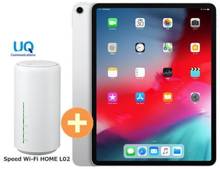 UQ WIMAX2+ UQ WiMAX Wi-Fi 正規代理店 3年契約UQ Flat ツープラスAPPLE iPad Pro 12.9インチ Wi-Fi 256GB MTFN2J/A [シルバー] + WIMAX2+ Speed Wi-Fi HOME L02 アップル タブレット セット iOS アイパッド 新品【回線セット販売】B, 蓄光堂:33209997 --- mail.ciencianet.com.ar
